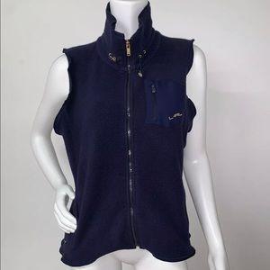 Ralph Lauren Active Navy Blue Vest Fleece Medium